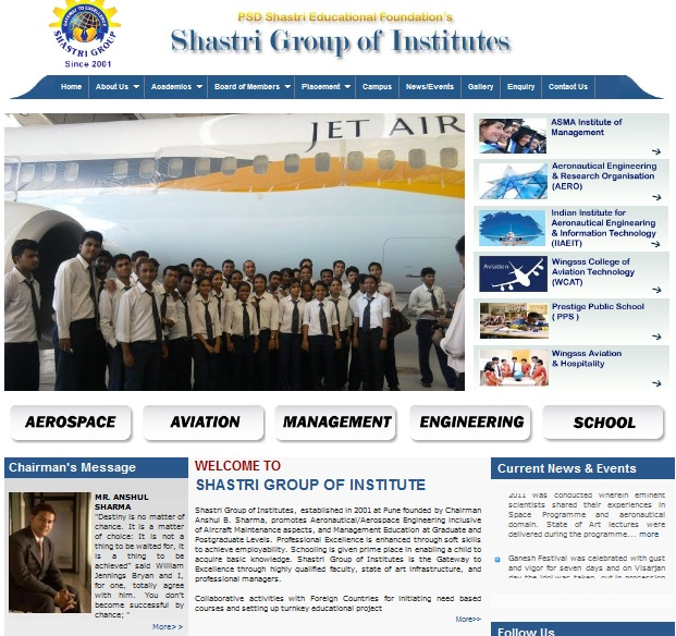 SHASTRI GROUP OF INSTITUTE