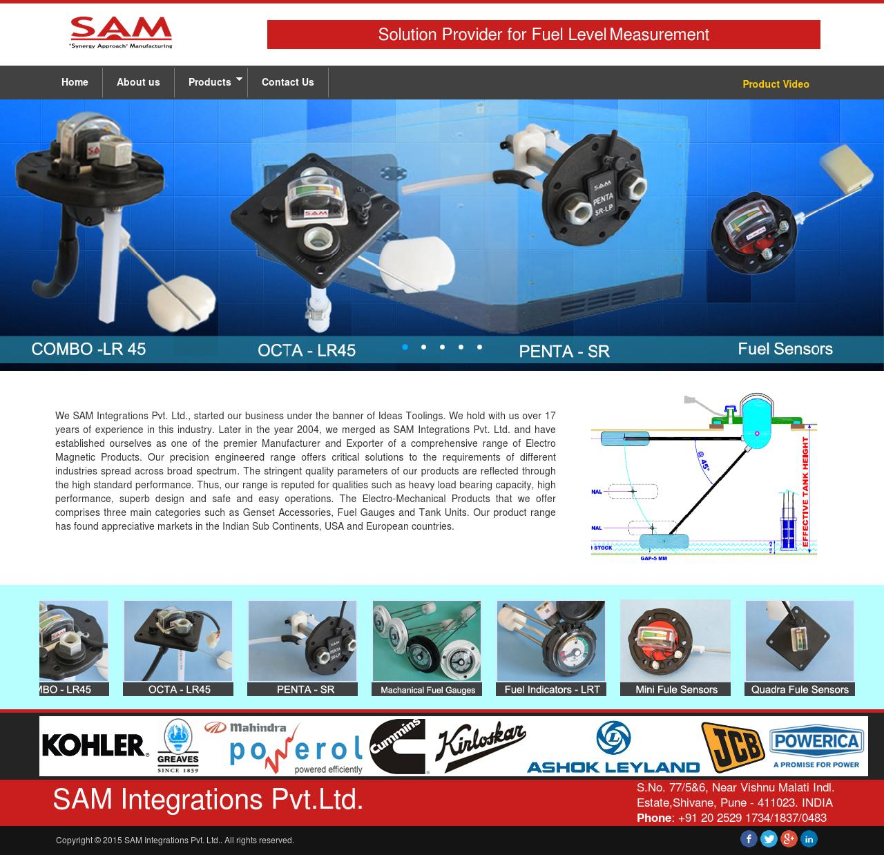 We SAM Integrations Pvt. Ltd.